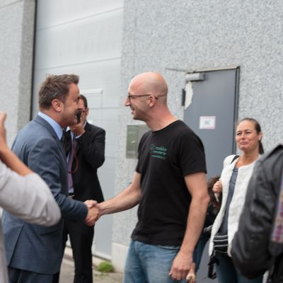 Modulor Visite Xavier Bettel 01